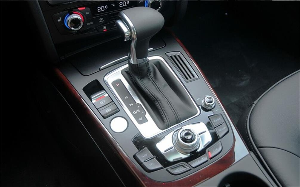 Amazon.com: Vesul Chrome Leather Gear Shift Knob For AUDI A3 A4 A5 A6 Q7 Q5 2009-2012: Automotive
