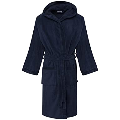 GB Textiles Kids Boys Navy Blue 10-12 Years Luxury Hooded 100 ... e4ff08840