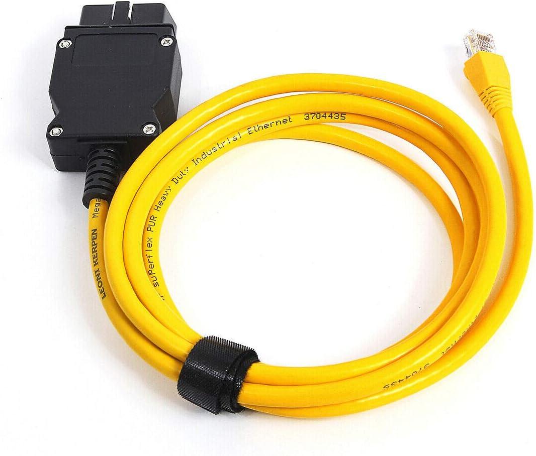 Goldplay Enet Rj45 cavo Ethernet connettore strumenti per interfaccia OBD cavo codifica serie F per B M W
