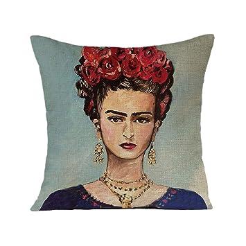 FEIRAN 3D Impreso Frida Kahlo Autorretrato Funda de ...