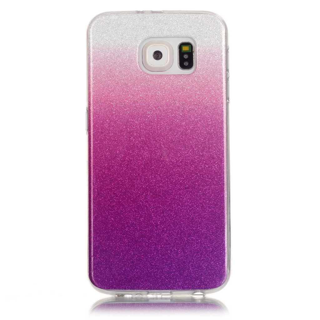 Uming® Copertura di caso della TPU colorful soft modello della stampa Case Cover ( Gradient (Dark purple) - per Huawei Ascend P9Lite ) Sacchetto di caso della copertura della protezione del silicone del telefono cellulare M-P9Lite-H108202