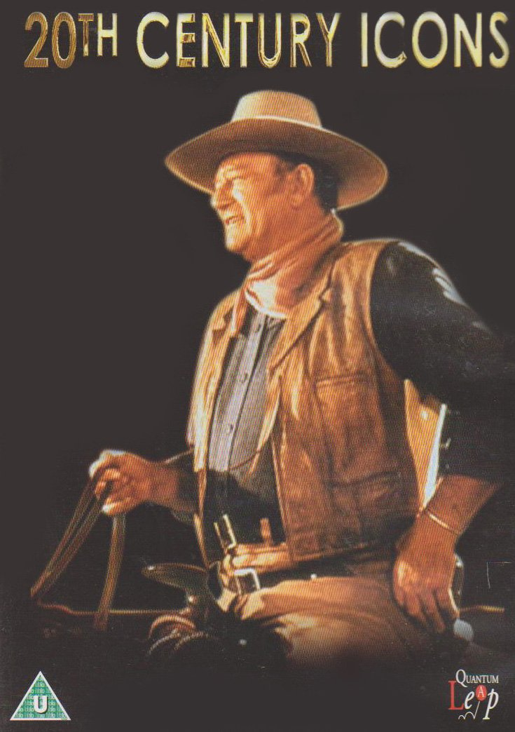 20th Century Icons - John Wayne [DVD] by Quantum Leap