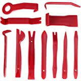 Phyles Outils pour Garnitures, 11 Pièces Outil Démontage Garniture Installation Kit Outils pour Panneau/Autoradio/Accessoires/Porte/Tableau de Bord de Voiture, Installateur Pry Outil