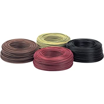 Lapp Kabel Litze H07V-K 2,5mm² schwarz 100M: Amazon.de: Elektronik