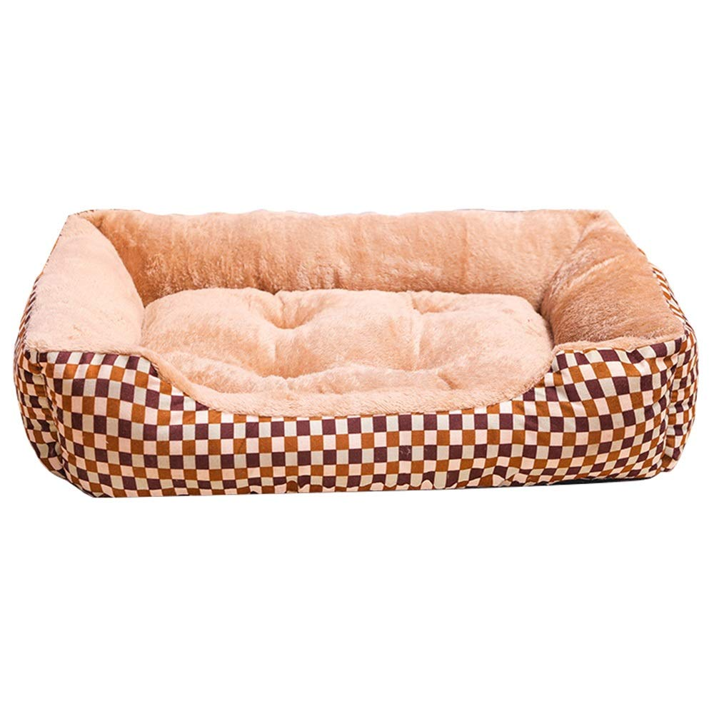 1001XXL Kennel Summer Washable Pet Cat Litter Dog Pad Small and Medium Dog Pet Supplies Four Seasons Nest (color   1002XL)