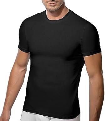 DOREANSE DU2550 Unterhemd Herren T-Shirt Rundhals Slim-Fit Mens Crew Neck T-Shirt  als Multipack erhältlich  Amazon.de  Bekleidung 8aef831163