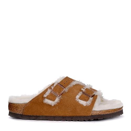 4f3e03526b33 Birkenstock Zurich Narrow Fit - Mink 1002410 (Brown) Womens Sandals 37 EU