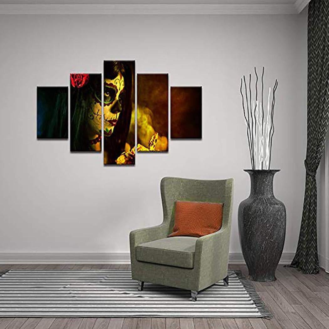 OYTRO 5Pcs Home Living Room Decor Pumpkin Halloween Canvas