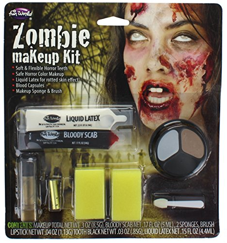 Zombie Make Up For Women (Zombie Wound Makeup Kit)