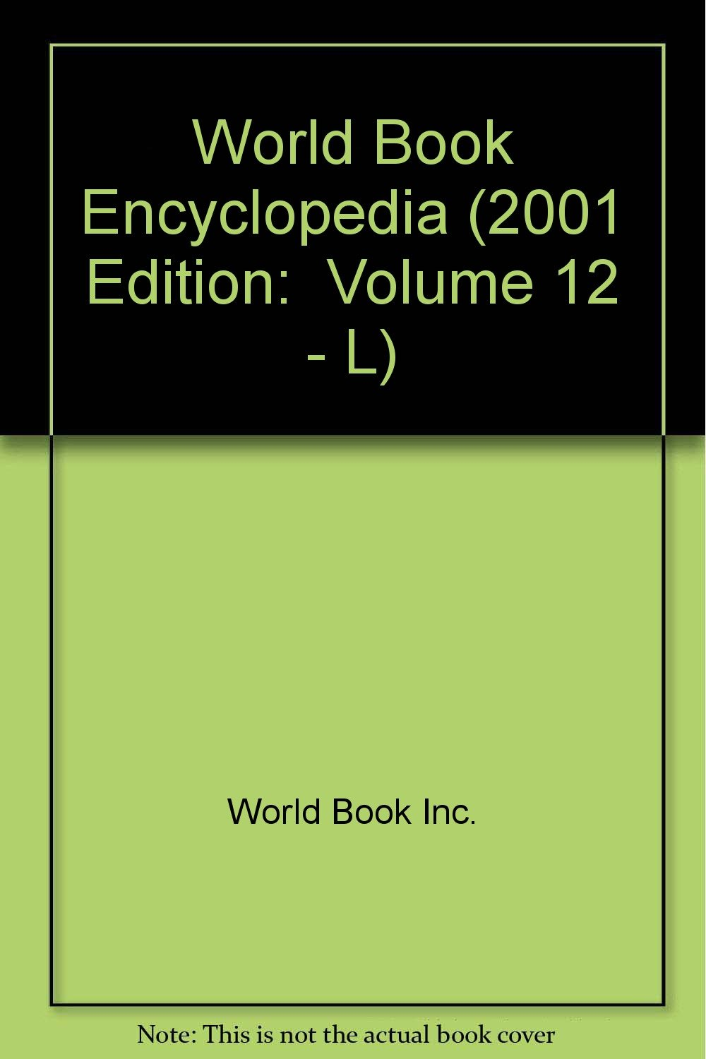 2001 world book encyclopedia set by world book encyclopedia.