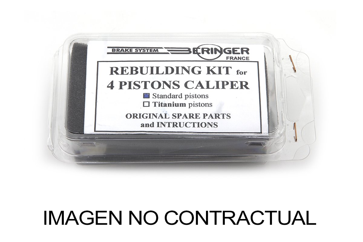 BERINGER KITREP4PRAD Kit de reparaci/ón para Pinza de freno de 4 pistones Aerotec/® Radial KITREP4PRAD