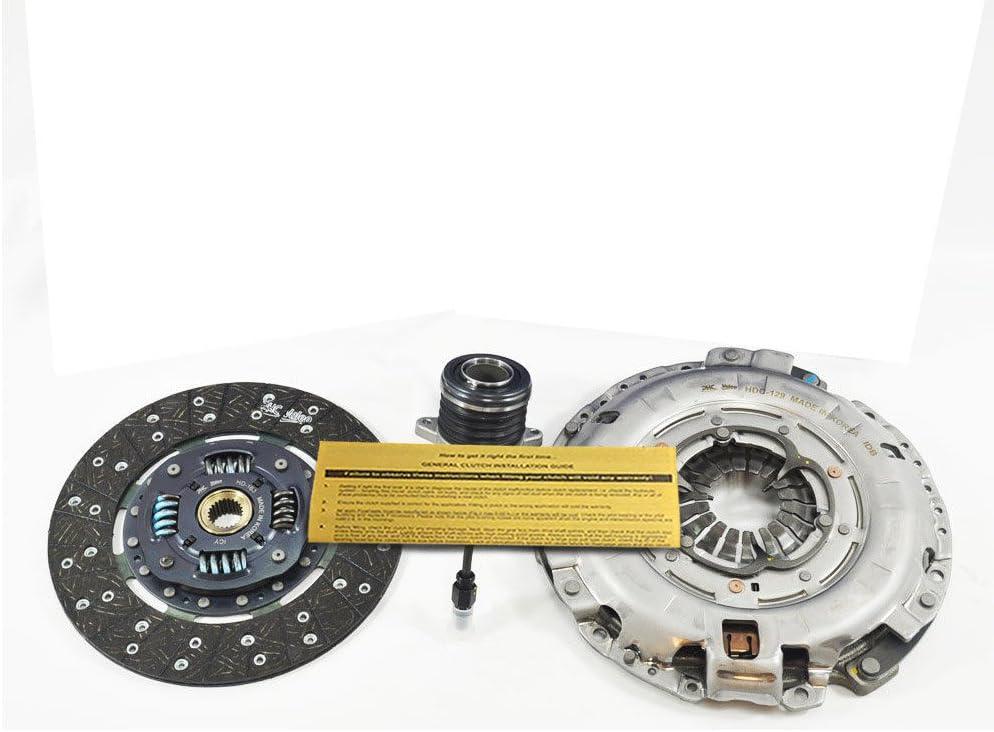 VALEO OEM CLUTCH KIT w/SLAVE CYL fits 2013-2015 HYUNDAI GENESIS GT R-SPEC 3.8L