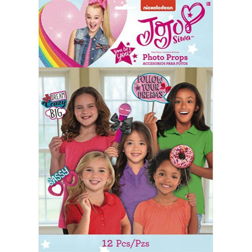 JoJo Siwa Pink Photo Prop Set (12pc) Props