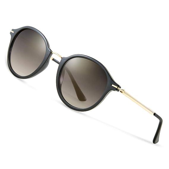5fa8dc4cce7f7c Elegear Sonnenbrille Damen Sonnenbrille Retro Verlaufsglas Sonnenbrille  Vintage Retro-Collection, 100% UV400-