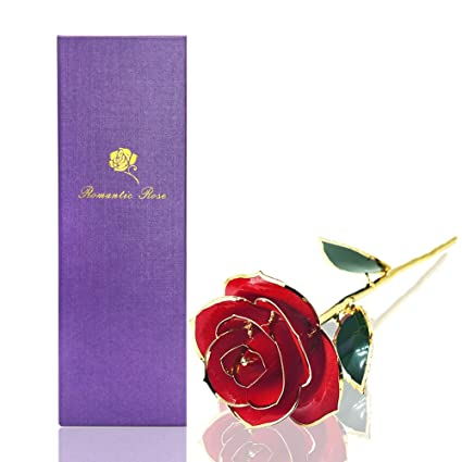 EconoLED Rose FlowerRed Best Gift For Valentines Day Mothers