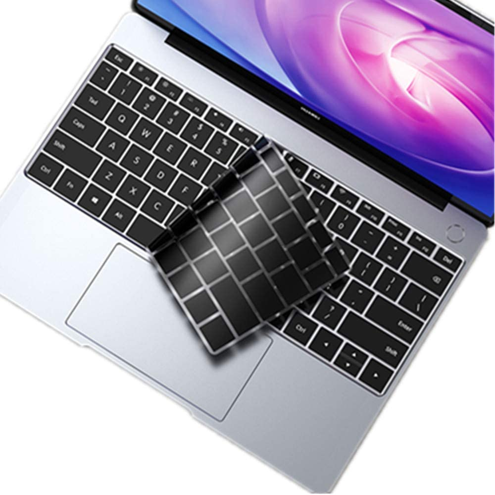 Color : Transparent for Huawei MateBook X Pro Shockproof Crystal Laptop Protective Case Durable