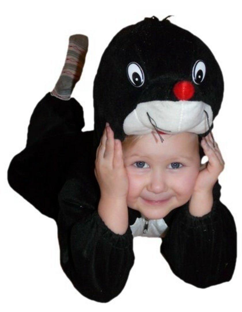 Maulwurf-Kostüm, An47 Gr. 68-74, für Babies und Klein-Kinder, Maulwurf-Kostüme Maulwürfe Kinder-Kostüme Fasching Karneval, Kinder-Karnevalskostüme, Kinder-Faschingskostüme, Geburtstags-Geschenk Maulwurf-Kostüm Kinder-Karnevalskostüme Kinder-Faschingskostüm