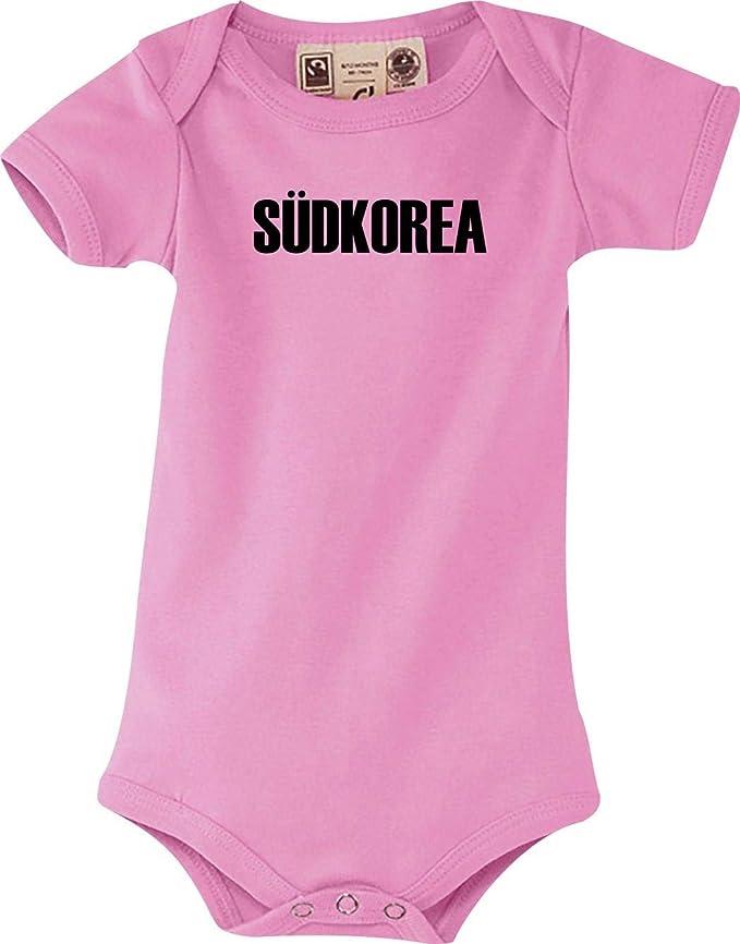 Länder Baby Body Südkorea Land Wappen