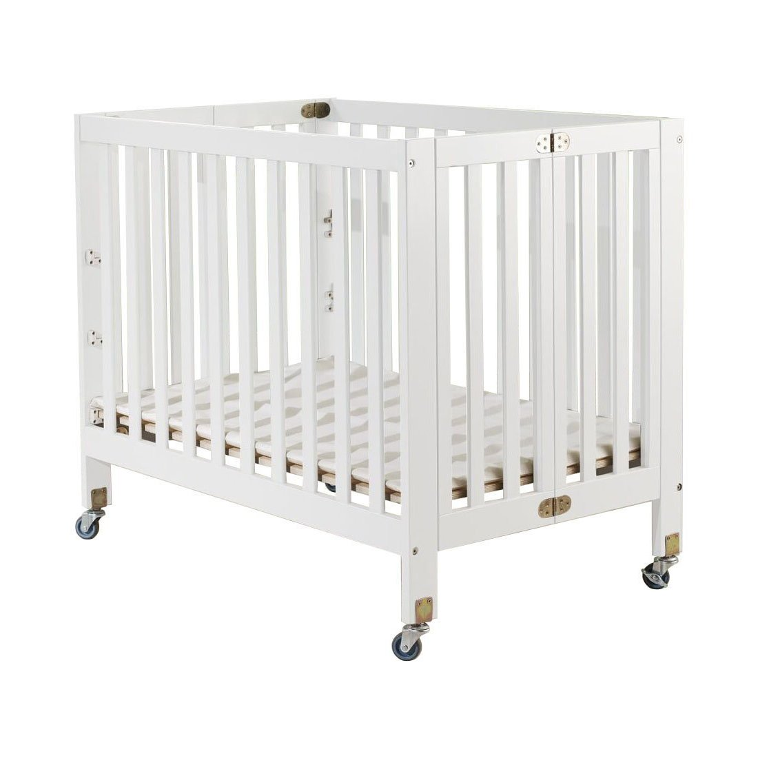Orbelle Trading Roxy Three Portable Crib, White by Orbelle Trading