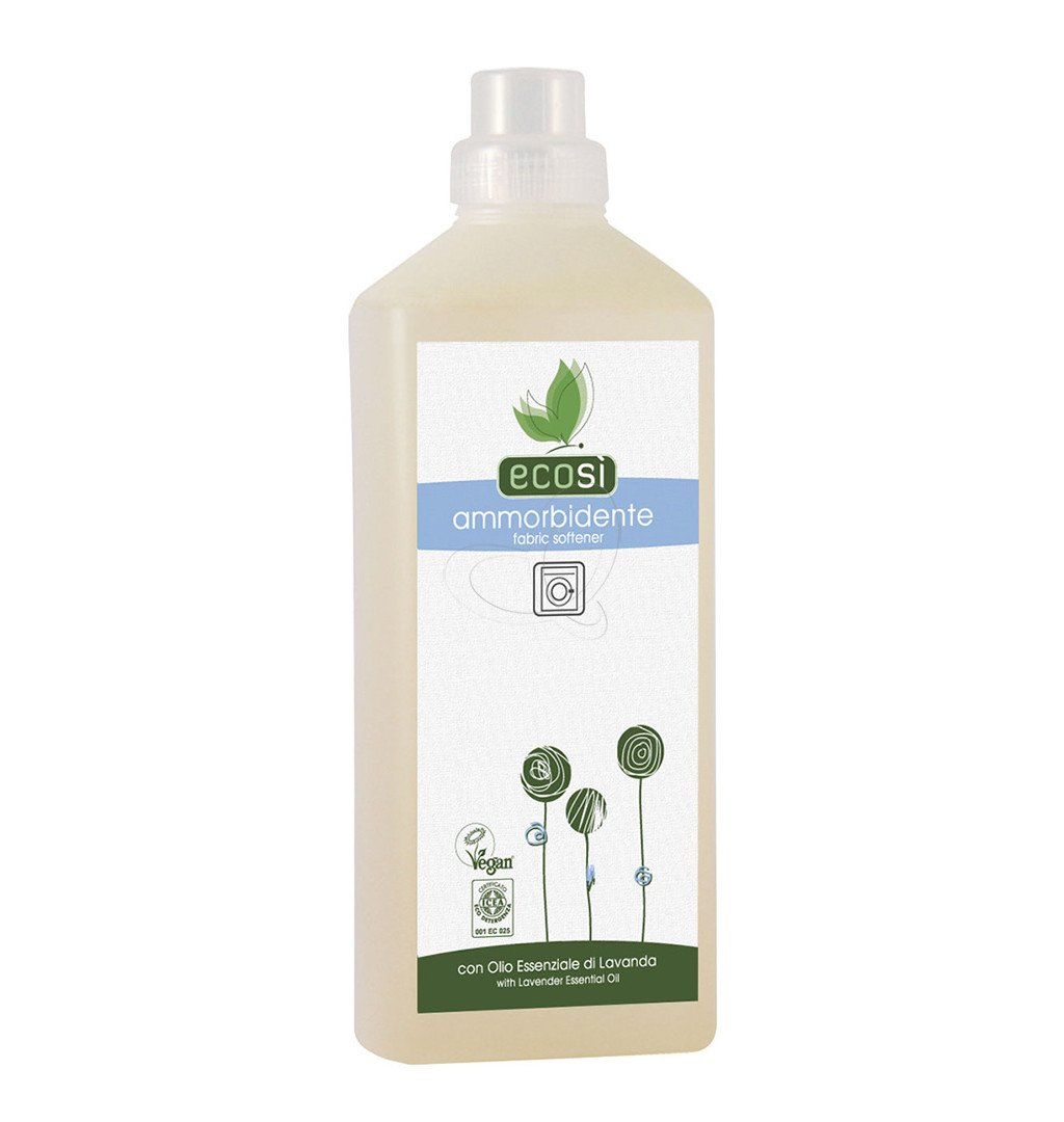Ecosi Organic Fabric Conditioner, Vegan Friendly, Eco Friendly, Dermatologically Tested, 1ltr Pierpaoli 8002849493038