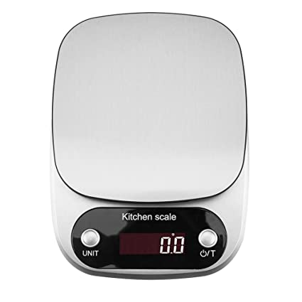 UNIhappy - Báscula Digital LCD para Cocina, para Hornear Pesas