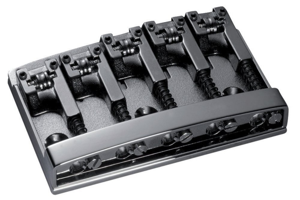 Shaller Bass Bridge Black Chrome - 3D-5 Model - 5 string