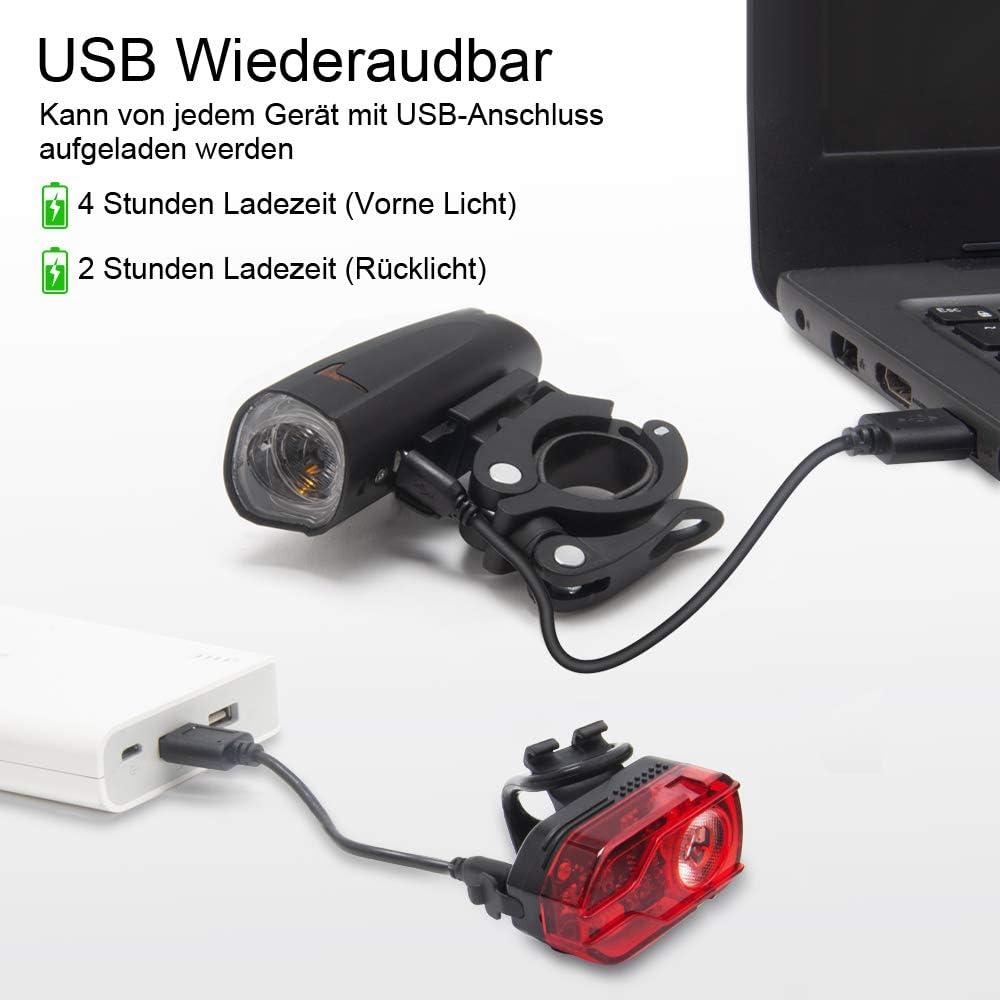 Fahrradlampe anschließen 4 kabel