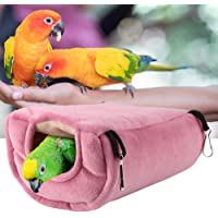 Plush Hammock, Windproof Warm Hammock Hanging Swing Bird Warmer for Bird for Pet Cave for Pet for Pet Cag(Large)