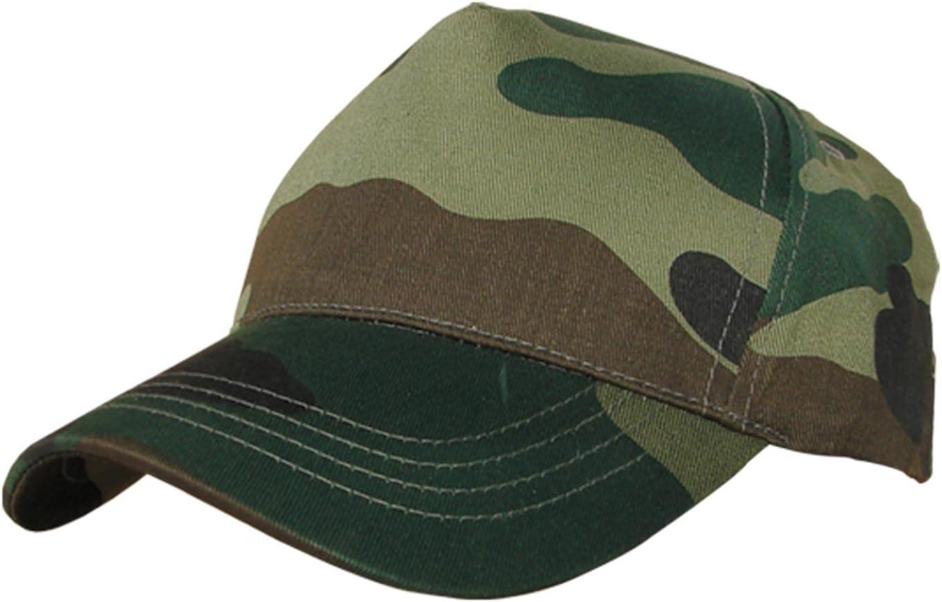 Benisport - Gorra 5 paneles, color camuflaje: Amazon.es: Jardín