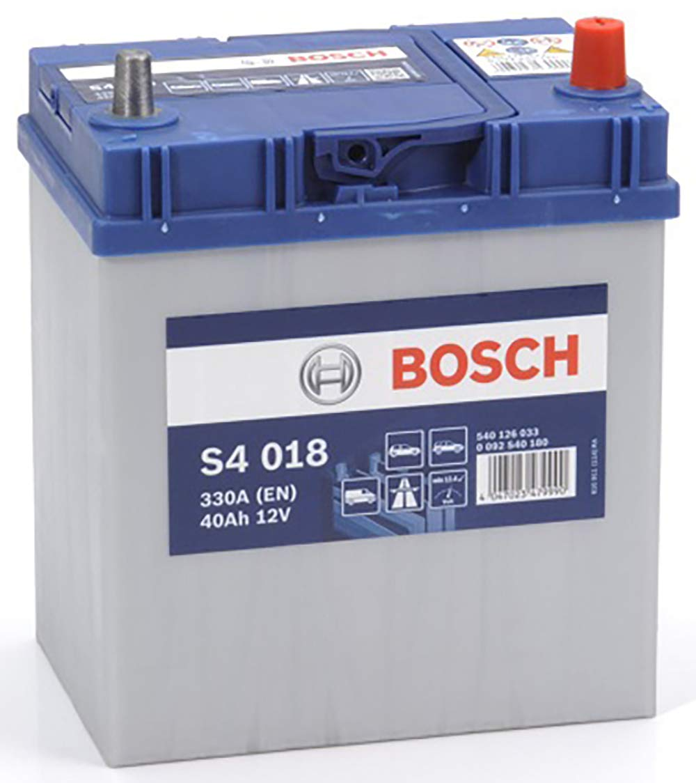 Bosch S4018 Batteria Auto 40A/h-330A BOSCH BATTERIE 0092S40180