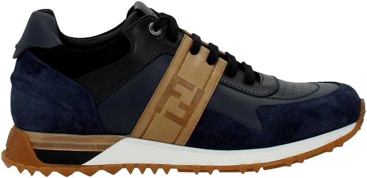 0db1be12 Fendi Sneakers Men - Leather (7E1136A1GVF11TX) 6 UK: Amazon.co.uk ...