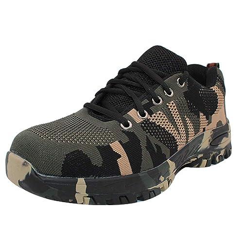 Yudesun Zapatos Montaña Deportes Zapatillas - Hombre Running Al Aire Libre Carretera Atlético Tenis Calzado Caminar Moda Casual Ligero Impermeable ...