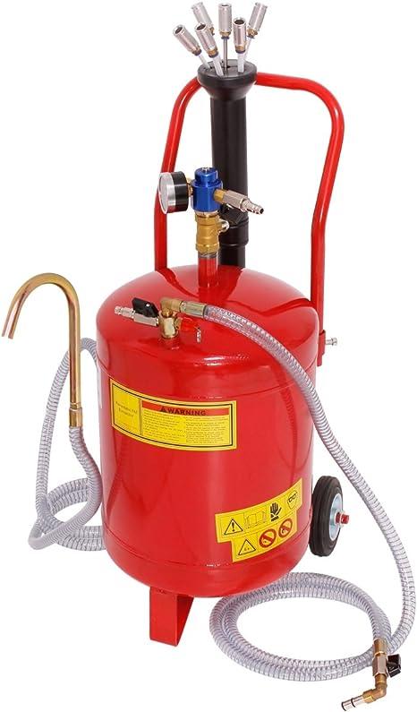 ECD Germany Aspirador de aceite - 24 litros - Extractor de aceite ...