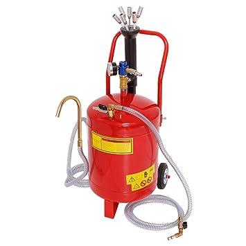 ECD Germany Aspirador de aceite 24 litros Extractor de aceite neumático para motores de vehículos Tanque para succión de aceite: Amazon.es: Bricolaje y ...