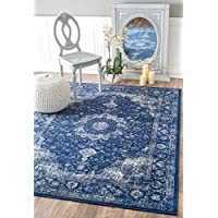 nuLOOM Accent Rugs, 5' X 7' 5', Dark Blue