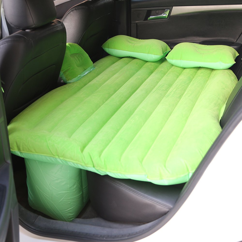 ERHANG Luftmatratzen Luftbetten Betten Luftmatratzen Autos Luft Betten Reise Betten Beflockung Aufblasbare Betten Camping,Grün