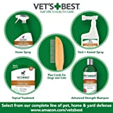 Vet's Best Flea Comb   Real Bamboo with Contour