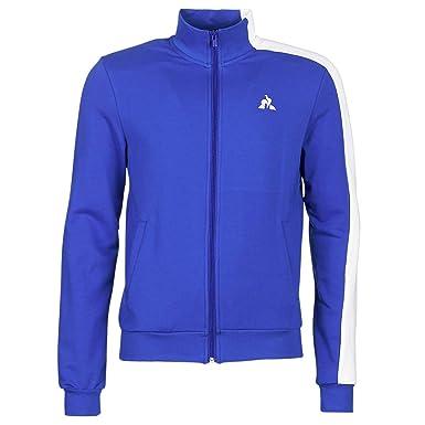 Le Coq Sportif Saison Fz Homme Sweat Bleu  Amazon.fr  Vêtements et ... d98735da4a6f