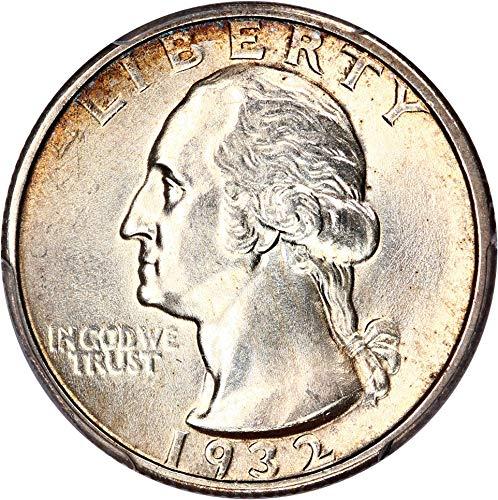 1932 S Washington Quarters (1932-98) Quarter MS63 PCGS\CAC