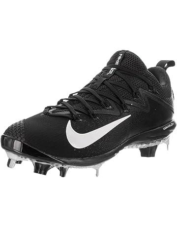 e4605a4ada42 Nike Men s Lunar Vapor Ultrafly Elite Synthetic Leather Baseball Cleats 9  Black