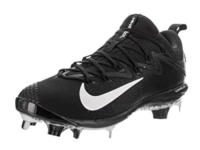 3d3fc4903f8f Nike Men s Lunar Vapor Ultrafly Elite Synthetic Leather Baseball Cleats 9  Black