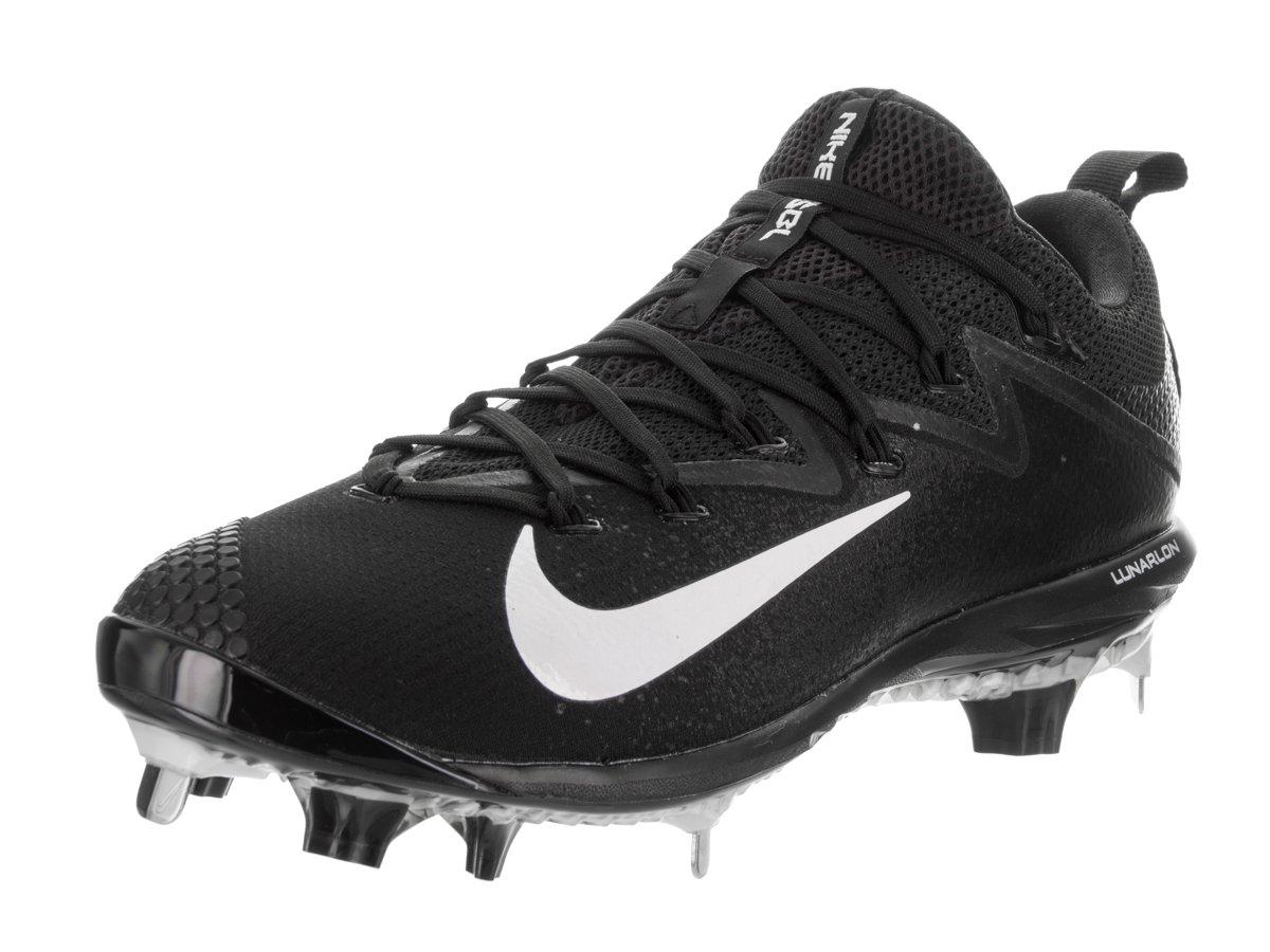 Nike Mens Lunar Vapor Ultrafly Elite Black/White/Black Baseball Cleat 11 Men US by NIKE