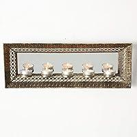 Home Collection - Candelabro de pared (metal,