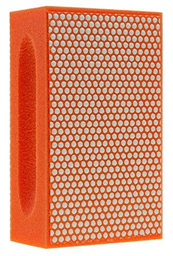 KGS PRO-PAD Diamond Hand Polishing pads (1 pack, Grit 3000 (orange))