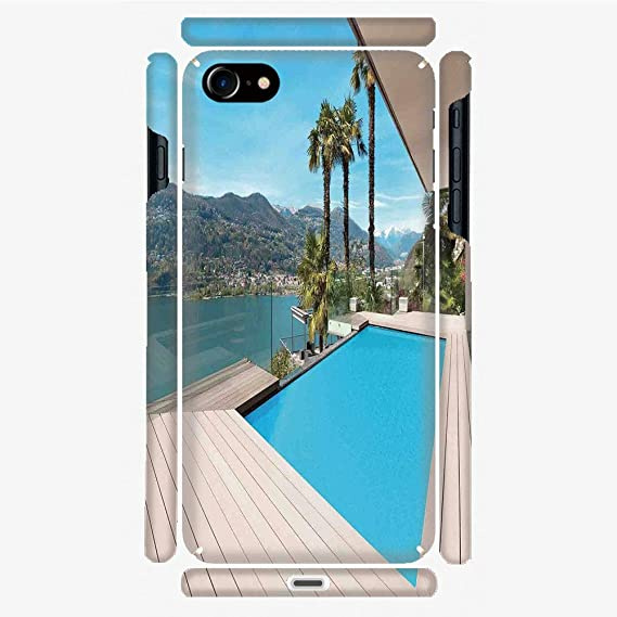 sports shoes 4865e 3d9b0 Amazon.com: Phone Case Compatible with 3D Printed iPhone 7/iPhone 8 ...