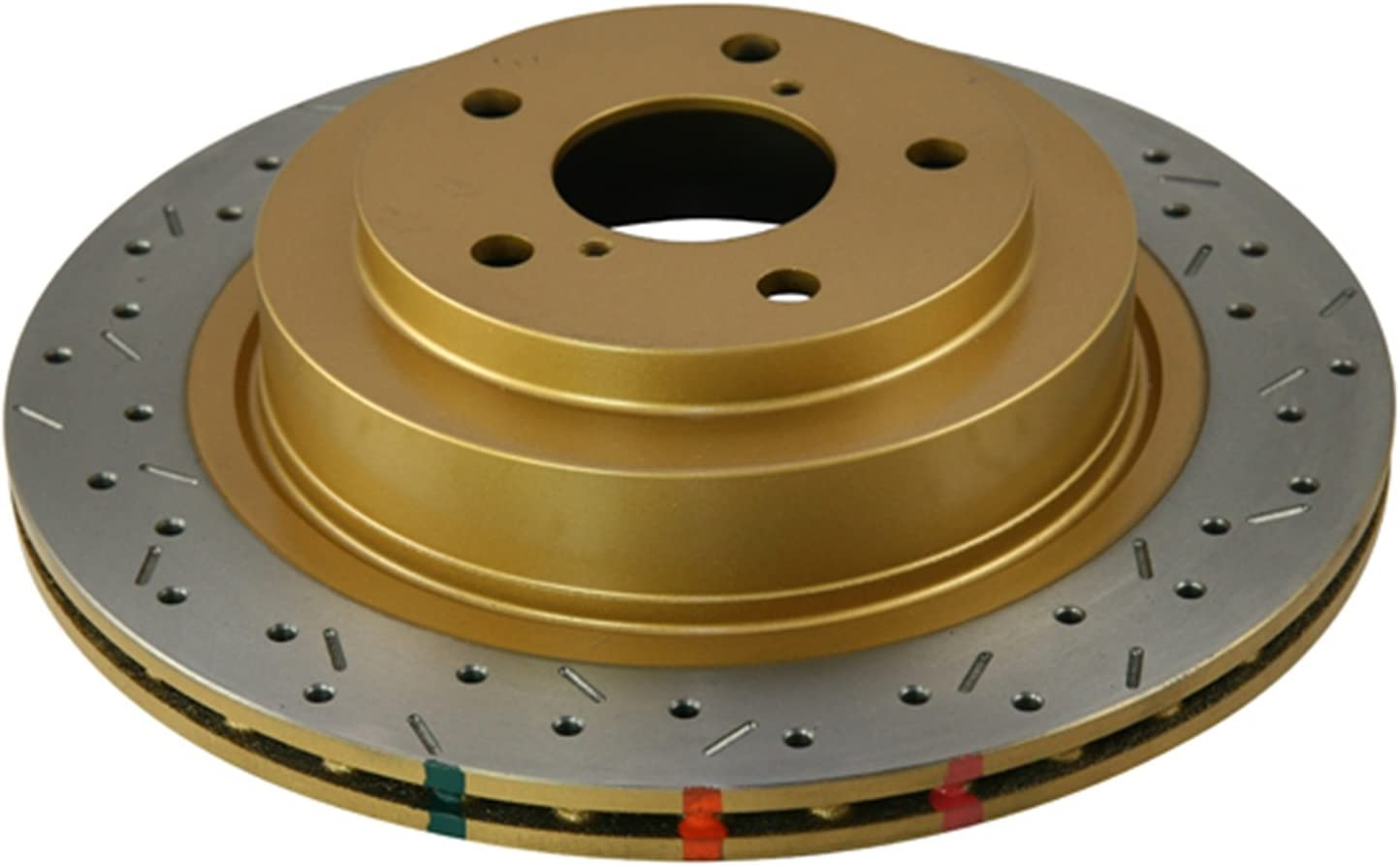 DBA DBA4954XS 4000 Series XS Premium Cross-Drilled and Slotted Front Vented Disc Brake Rotor