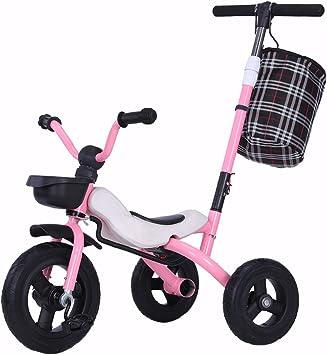 SONG Sillas de paseo Triciclo Plegable for Niños Bicicleta for ...