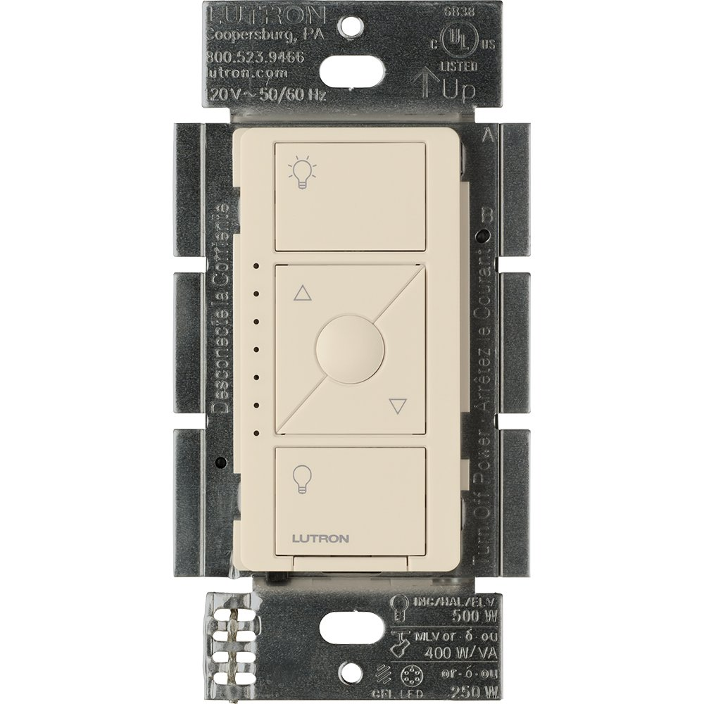 Lutron Caseta ワイヤレス 低電圧 壁埋込型 調光器 1 Pack PD-5NE-LA 1 B01MDKJ6FO Light Almond Light Almond