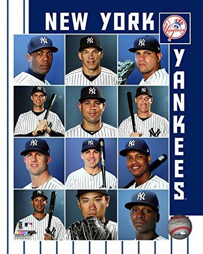 New York Yankees 2017 Team Composite Photo (16