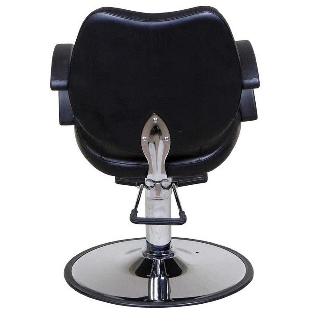 Black salon chairs - Amazon Com Icarus Mae Black Classic Beauty Salon Hydraulic Styling Chair Beauty